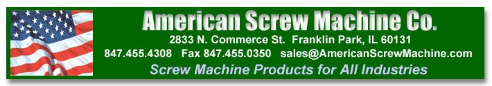 American Screw Machine - Screw Machine Products for All Industries